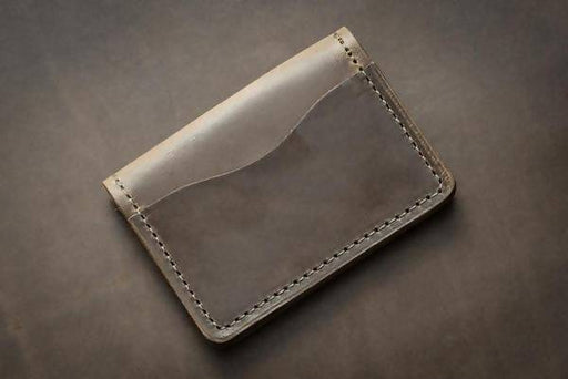 CAVALRY 5 CARD LEATHER WALLET