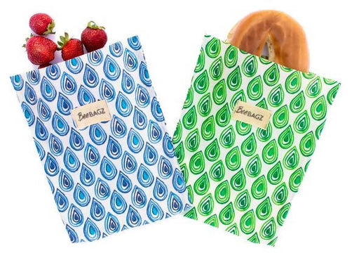 BeeBAGZ™ Sandwich Pack - Beeswax Wrap Bags