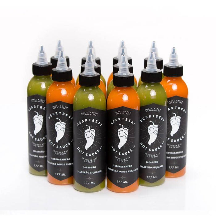 Heartbeat Hot Sauce Red Habanero/Jalapeno (Split Case of 12)