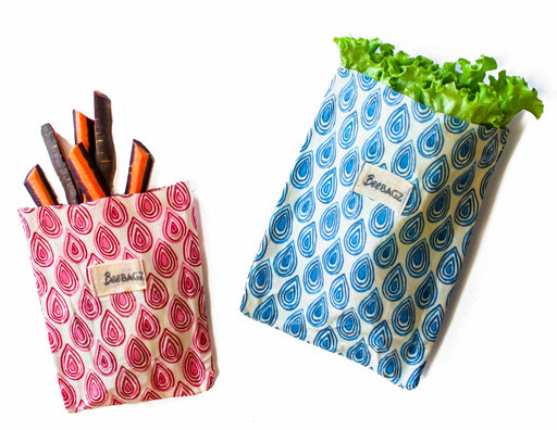 BeeBAGZ™ Snack Pack - Beeswax Wrap Bags