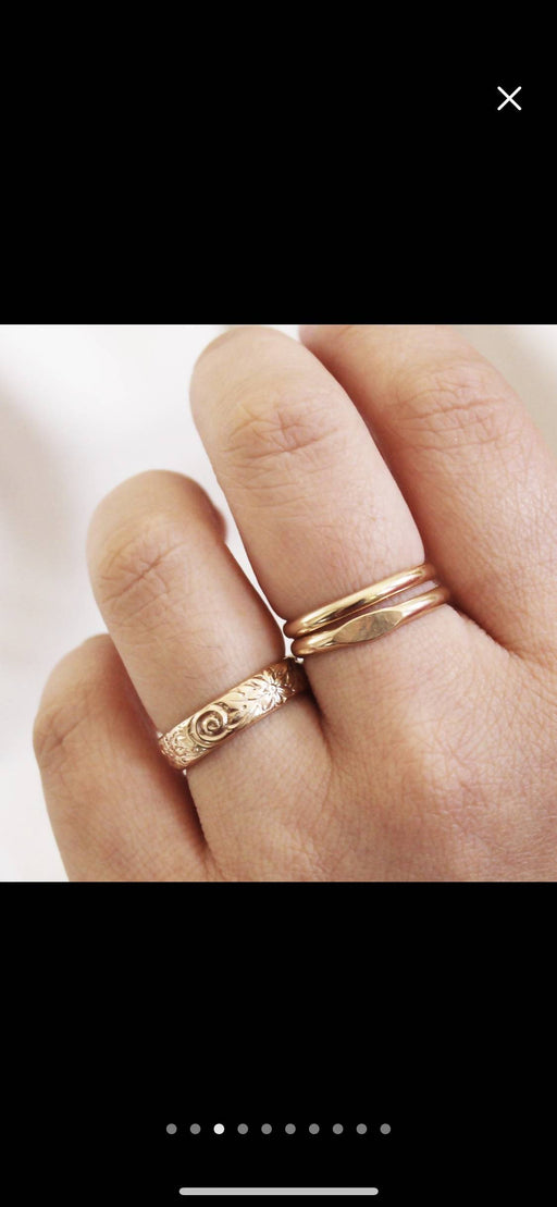 Stacking Mini Signet Ring