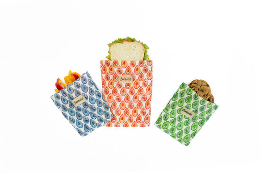 BeeBAGZ™ Lunch Pack - Beeswax Wrap Bags