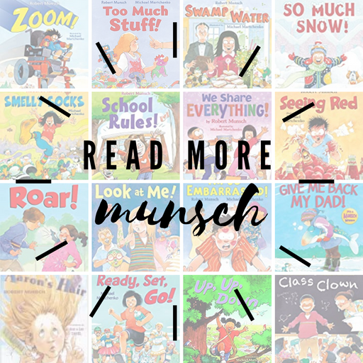 Robert Munsch book collection