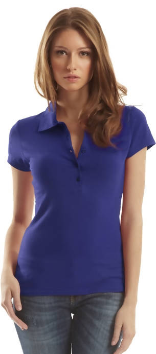 Ladies Bamboo Stretch Polo
