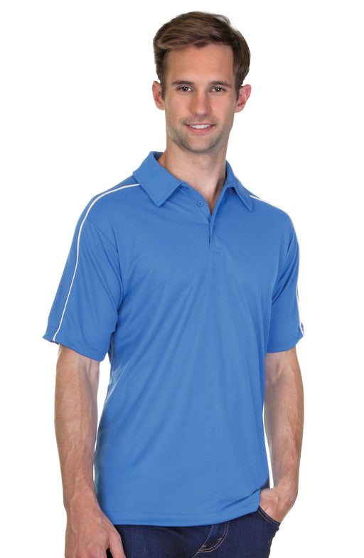 Mens Performance Piqué Polo Shirt