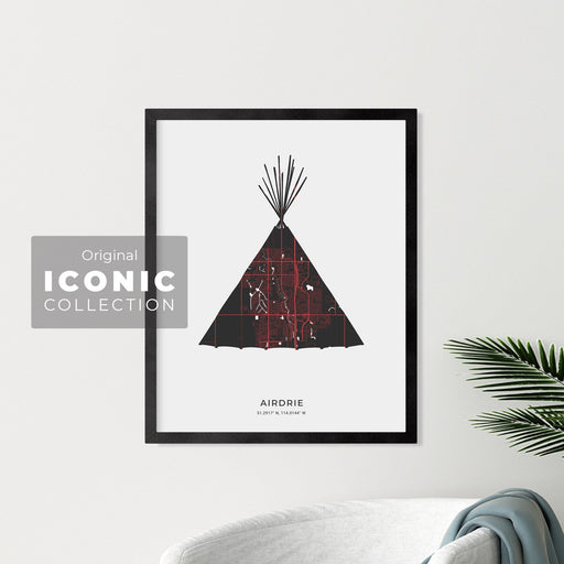 Airdrie Teepee Print