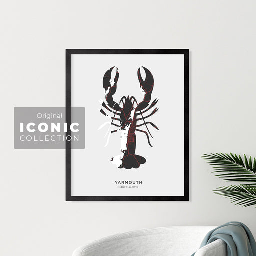 Yarmouth Lobster Print