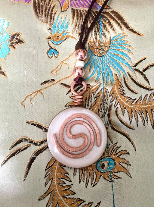 Moonlight Galaxy Spiral Biomagnetic Field Clearing Amulet Orgone Device