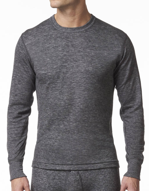 MEN'S CREW NECK SHORT - WOOL BLEND 2 LAYER
