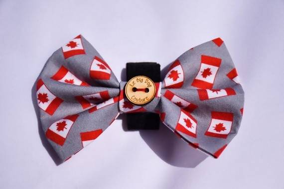 The Canadian Eh Bow Tie