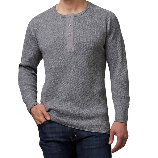 THERMAL HENLEY SHIRT