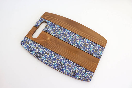 Blue Persian Design Serving Board