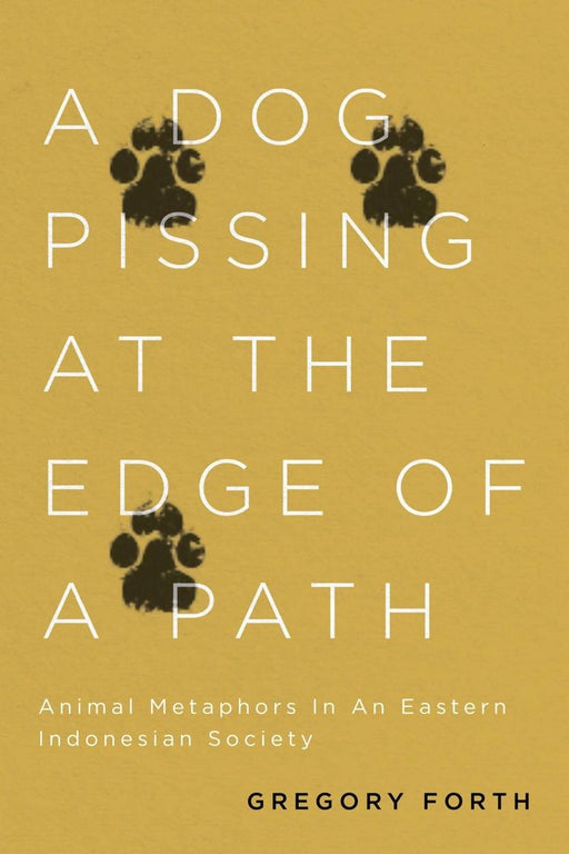 A Dog Pissing at the Edge of a Path