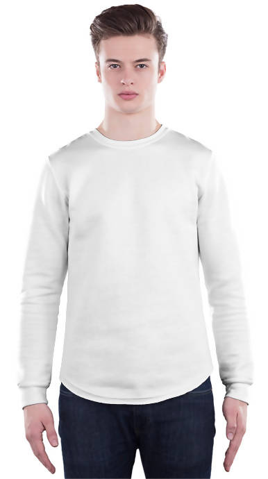 Scoop Bottom Sweatshirt