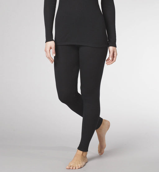 TWO LAYER LEGGING WITH WOOL