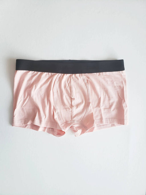 Dusty Pink Organic Cotton Boxer Brief Men and Women