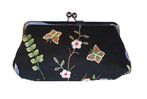Amelia Clutch – Embroidered Women's Handbag