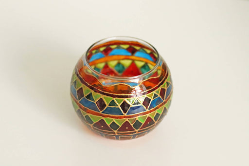 Colourful Candle Holder