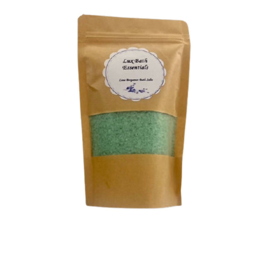 Lime Bergamot Bath Salts (500g)