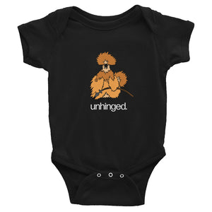 VikHen Grump Unhinged Infant Bodysuit