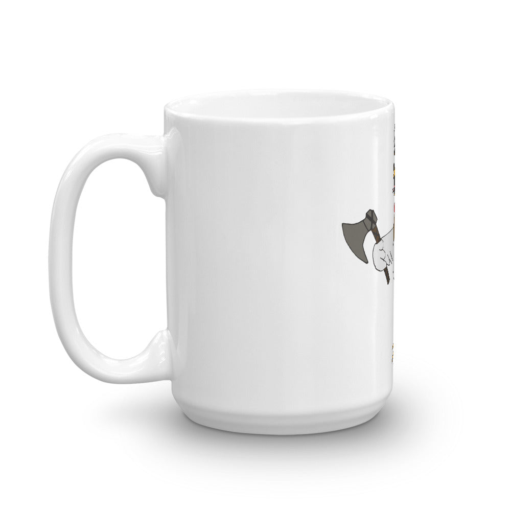 Double-Sided VikHen Awk Mug