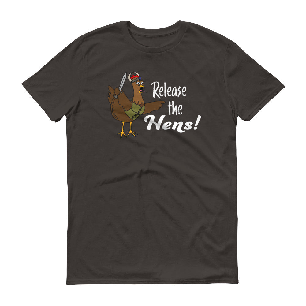 VikHen Ingrid Release the Hens! Short-Sleeve T-Shirt