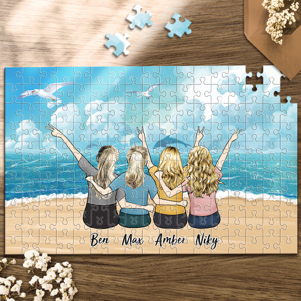 Personalized Custom Puzzles For Family And Pets