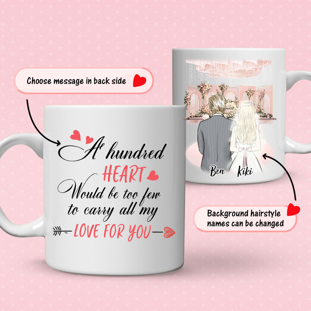 Personalized Wedding Mug - Unique Gift for Wedding