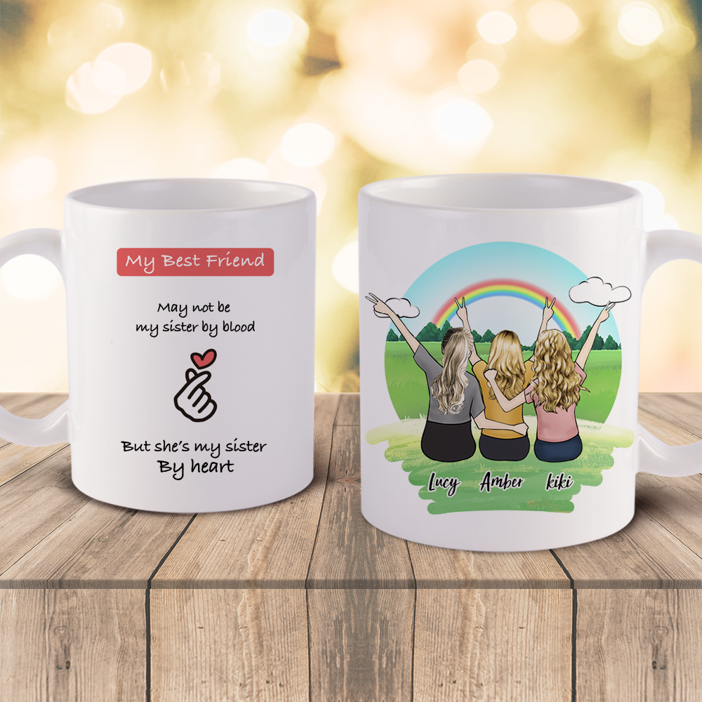 Personalized Mugs Custom Best Friends Mugs Design Online Myphotomugs