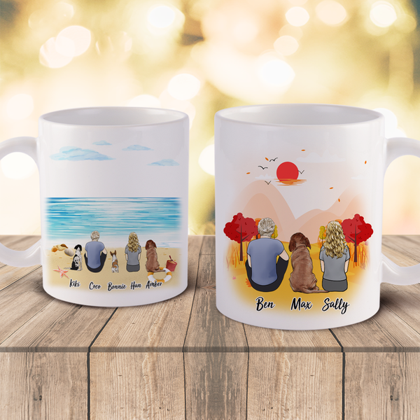 Custom Mugs Custom Coffee Mugs With Dog Custom Gift For Pet Lover | Made In USA