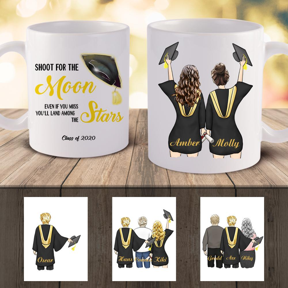 Personalized Mug - Graduation Gift (online design & 3D preview)