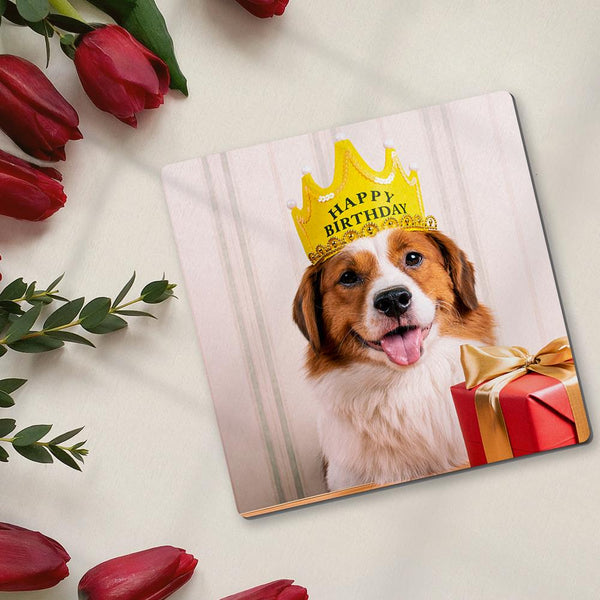Custom Coaster Square Photo Coaster Pet Photo Coaster