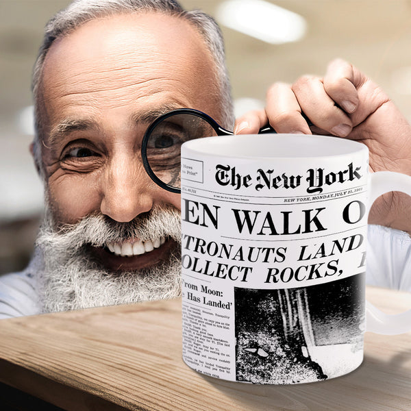 Custom Newspaper Mug
