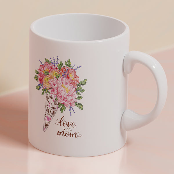 Love You Mom Mug Mother's Day Gift