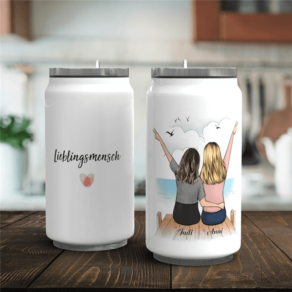 Personalized Thermal Mug-Is There a Favorite Friend?