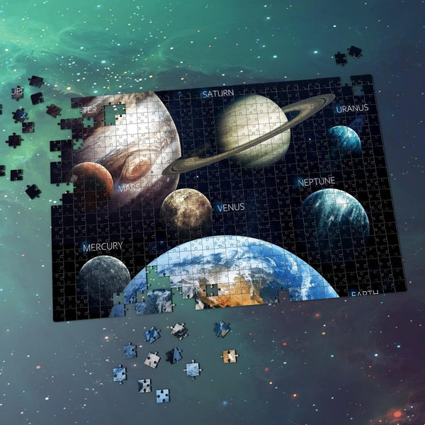 Space Jigsaw Puzzle Universe Best Stay-at-home Gifts For Family - Eight Planets