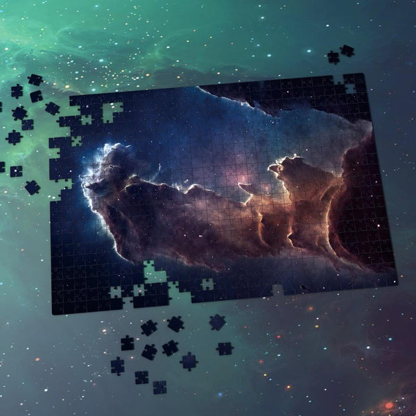 Space Shuttle Jigsaw Puzzle Best Gifts For Family And Friends - Purple Nebula