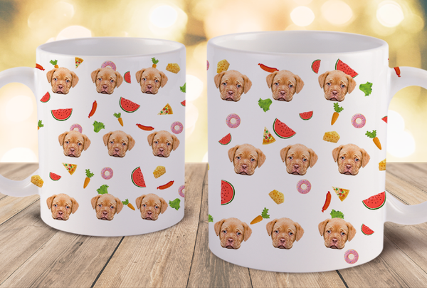 Personalized Dog Mug - Custom Dog Mug Put Dog Photo On Mug