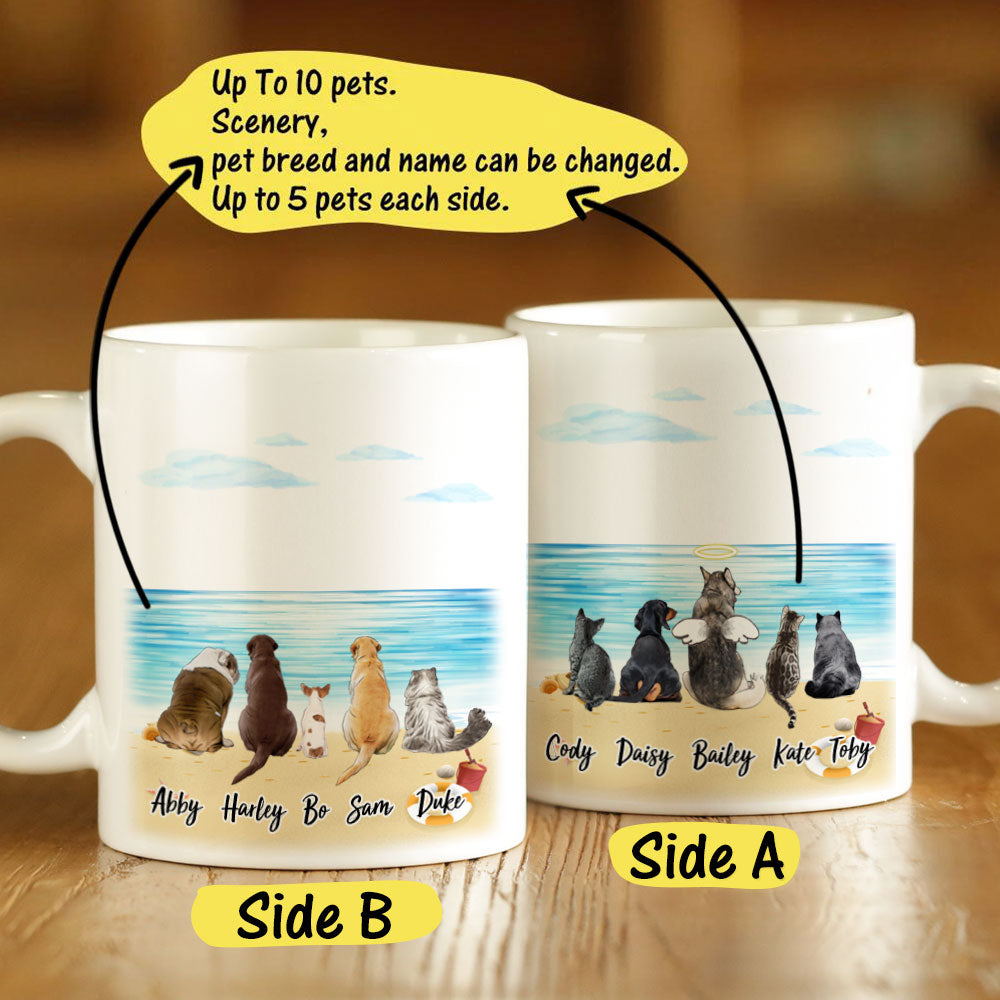 Custom Mugs Custom Coffee Mugs With Pets Custom Gift For Pet Lover | Made In USA
