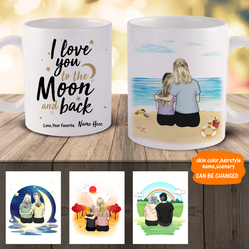 Personalized Best Mom Mugs, Personalized Mugs For Mom | MyPhotoMugs