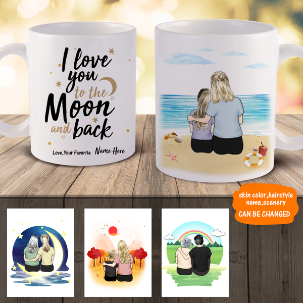 Personalized Best Mom Mugs | Made In USA