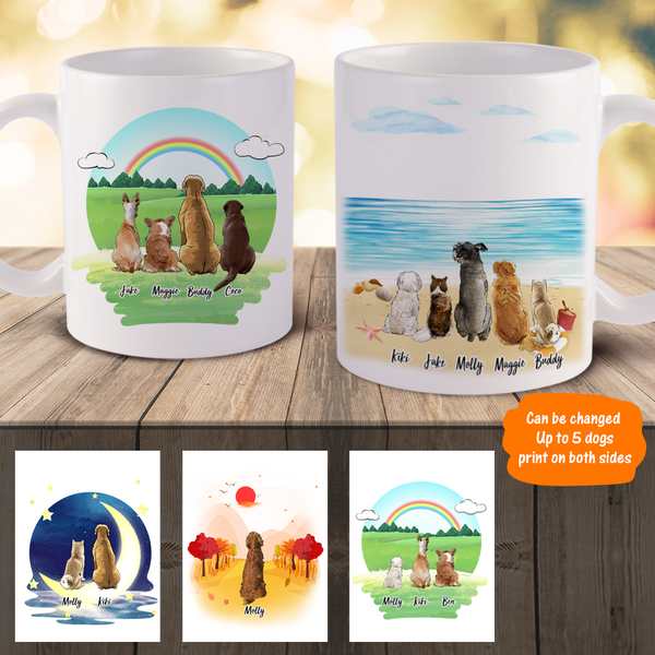 Custom Mugs Custom Coffee Mugs with Dogs Custom Gift for Pet Lover | Made In USA