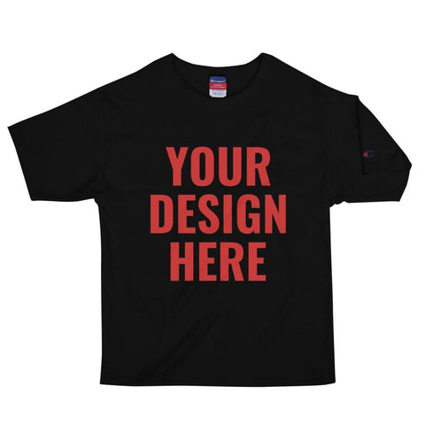 Design your own Champion tee