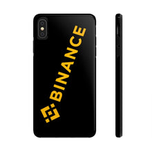 Load image into Gallery viewer, Binance Logo, Tough iPhone Case by Case Mate