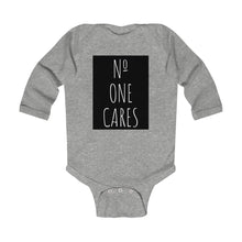 Load image into Gallery viewer, Number One Cares Infant Long Sleeve Bodysuit