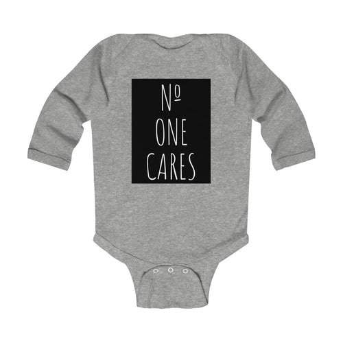 Number One Cares Infant Long Sleeve Bodysuit