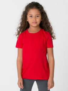 American Apparel kids 2105W Red