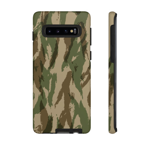 Green Hunting Camo Samsung Galaxy S10 Tough Case