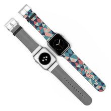 Load image into Gallery viewer, Multicolor Triangle Pattern, Apple Watch Band