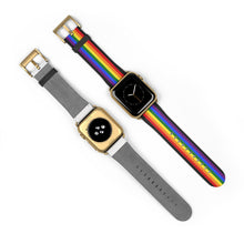Load image into Gallery viewer, Pride Flag LGBT Colors, Apple Watch Band
